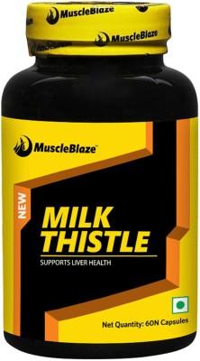 MuscleBlaze Milk Thistle Capsules (60 PCS)