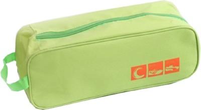 Italish Multi purpose Portable Waterproof Shoes Travel Storage Bag Green