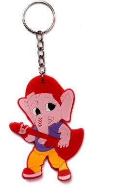 Crazytowear Rocking Ganesha Diwali Gift Key Chain(Multicolor)  available at flipkart for Rs.169