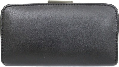 JoJo Pouch for Intex Aqua Fish(Black, Artificial Leather)