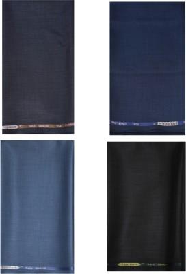 KUNDAN SULZ GWALIOR Polycotton Self Design Trouser Fabric(Unstitched)