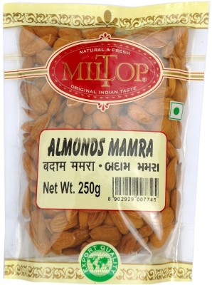 Miltop Almond Mamra Almonds(1 kg, Pouch)  available at flipkart for Rs.3499