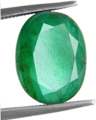 raviour lifestyle 3.5 Ratti/3.18 ct. Emerald/Panna Premium Exclusive Certified Natural Gemstone for Ring Stone Emerald Ring at flipkart