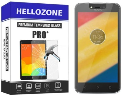 Hello Zone Tempered Glass Guard for Motorola Moto C Plus