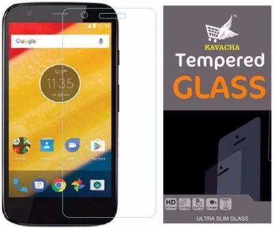Kavacha Tempered Glass Guard for Motorola Moto C Plus(Pack of 1)