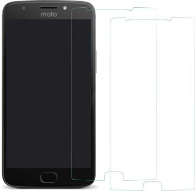 MTT Tempered Glass Guard for Motorola Moto E4 Plus(Pack of 2)