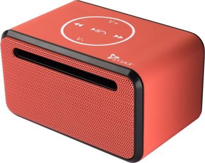 Syska KTS38 Portable Bluetooth Mobile/Tablet Speaker(Orange, Mono Channel)