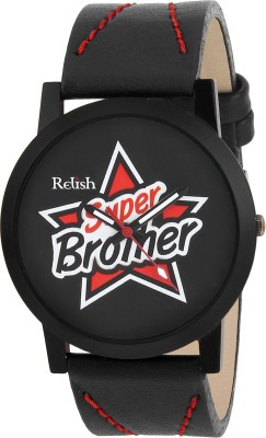 Relish RE-S8089BB SLIM Analog Watch For Boys