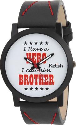 Relish RE-S8079BB SLIM Analog Watch For Boys