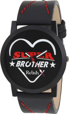 Relish RE-S8084BB SLIM Analog Watch For Boys