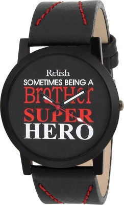 Relish RE-S8088BB SLIM Analog Watch For Boys