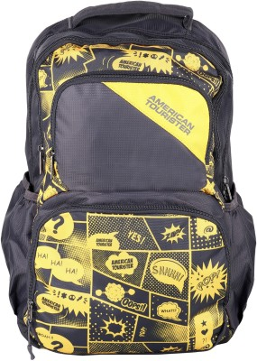 American Tourister DOODLE 03 GREY 2017 28 L Backpack(Grey)