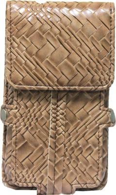 JoJo Pouch for LG Spectrum II 4G VS930(Brown, Tan, Artificial Leather)