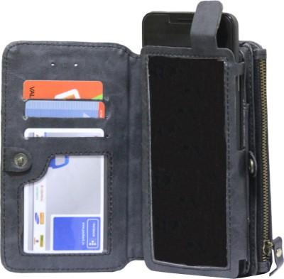 JoJo Pouch for LG Spectrum II 4G VS930(Dark Blue, Artificial Leather)