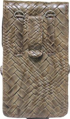 JoJo Pouch for LG Spectrum II 4G VS930(Tan, Artificial Leather)