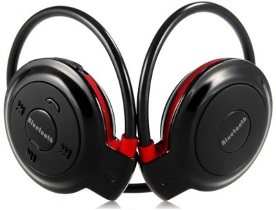 techno frost Mini 503 Headphone(Black, On the Ear) 1
