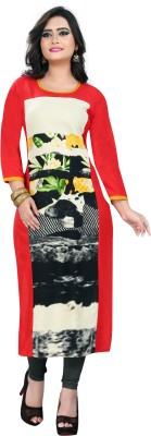 Vbuyz Festive & Party Printed Women Kurti(Multicolor)