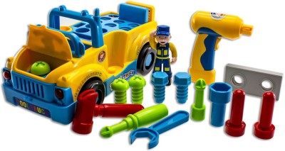 GoAppuGo Tool Kit With Truck For Kids Baby Birthday Gift For 2 Or 3