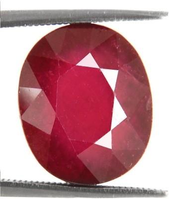 Raviour Lifestyle Raviour 11.0 Ratti/10.0 ct. Ruby/Manak Supreme Natural Gemstone for Ring Stone Ruby Ring at flipkart