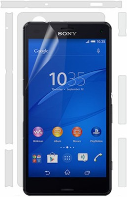 Robobull Front and Back Screen Guard for Sony Xperia Z3 Compact(Pack of 1)