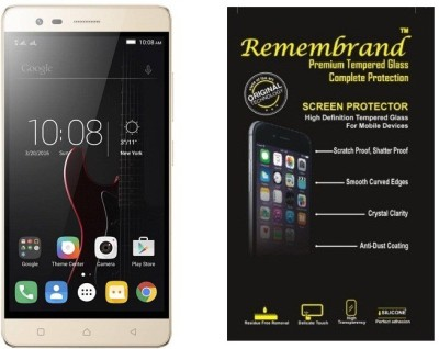 Remembrand Tempered Glass Guard for Lenovo Vibe K5 Note(Pack of 1)