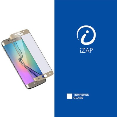 iZAP Tempered Glass Guard for Samsung Galaxy S6 Edge Plus(Pack of 1)
