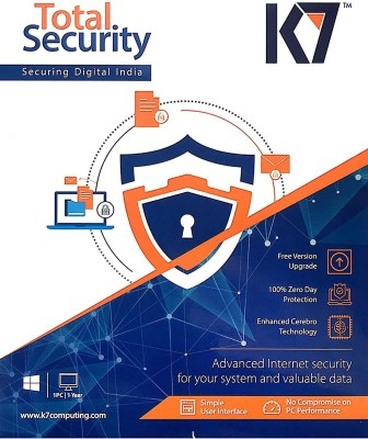 K7 TOTAL SECURITY 1PC 3 YEAR at flipkart