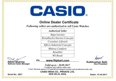 Image of Casio ED309 Edifice Watch - For Men