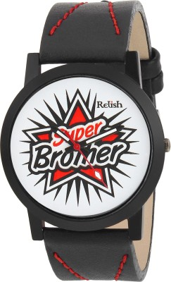 Relish RE-S8077BB SLIM Analog Watch For Boys