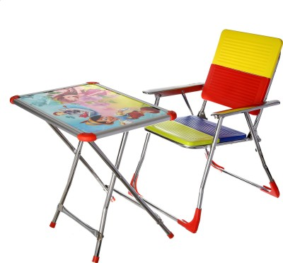 Wi Retail Metal Desk Chair(Finish Color - Candy Red)
