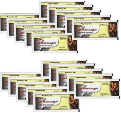 Recombigen Clear Sign HCG test strip Pack of 20pcs. pregnancy test kit Pregnancy Test Kit(20 Tests)  available at flipkart for Rs.330