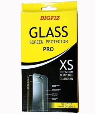 BIGFIZ Tempered Glass Guard for Micromax A65 Bolt