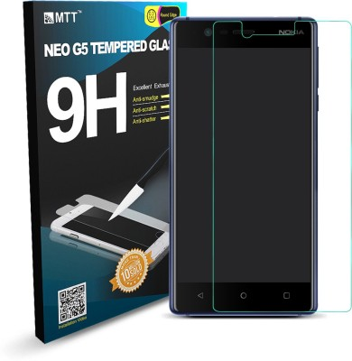 MTT Tempered Glass Guard for Nokia 3(Pack of 2)