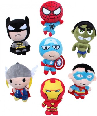 S.M. Technologies Mixed Soft Toy Any Cartoon Characters Small - 8 inch(Multicolor)