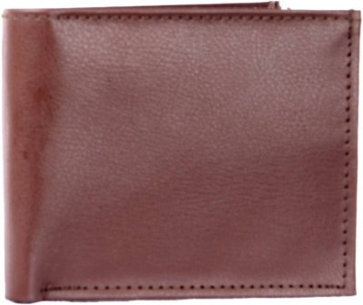 Uni Carress Men Brown Artificial Leather Wallet(3 Card Slots)  available at flipkart for Rs.129