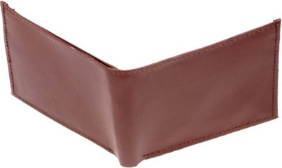Uni Carress Men Brown Artificial Leather Wallet(2 Card Slots)  available at flipkart for Rs.135