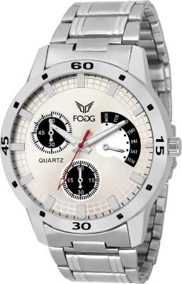 Fogg 12002-SL-CK MODISH Hybrid Watch  - For Men