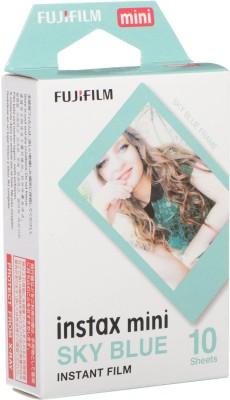 Fujifilm Sky Blue Instax Mini 10 Sheet Pack Film Roll