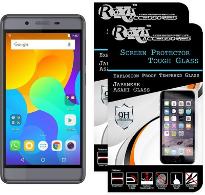 Roxel Tempered Glass Guard for Micromax Canvas Evok Power