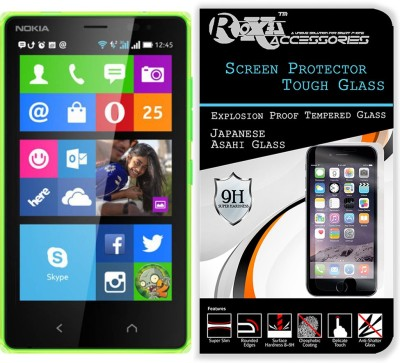 CASECRAFT Tempered Glass Guard for Nokia X2 Dual Sim