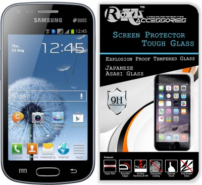 Roxel Tempered Glass Guard for Samsung Galaxy S Duos GT-S7562