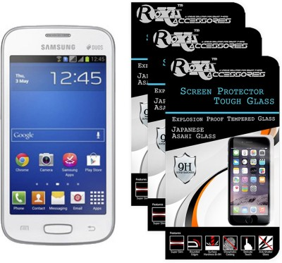 Roxel Tempered Glass Guard for Samsung Galaxy Star Pro GT-S7262(Pack of 3)