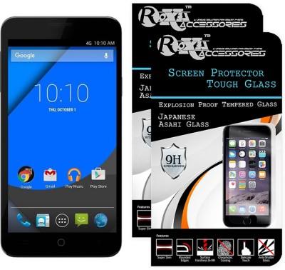 MOBIVIILE Tempered Glass Guard for Micromax Yu Yureka, YU Yuerka AO5510, YU Yuerka Plus AQ5510(Pack of 1)