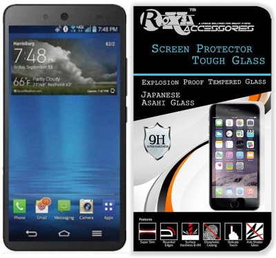 CASETREE Tempered Glass Guard for Micromax Canvas Juice 3 Plus Q394