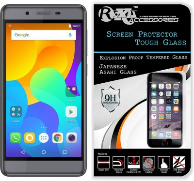 Blate Tempered Glass Guard for Micromax Canvas Power 2 Q398(Pack of 1)