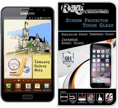 Roxel Tempered Glass Guard for Samsung Galaxy Note 1 N7000(Pack of 1)