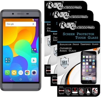 TELESHIELD Tempered Glass Guard for Micromax Canvas Power 2 Q398(Pack of 1)