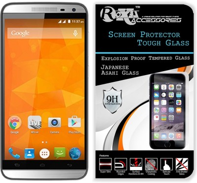 Roxel Tempered Glass Guard for Micromax Canvas Juice 2 AQ5001