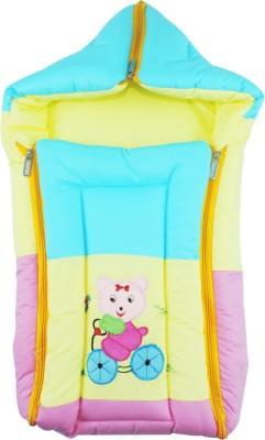 Ole Baby 3 In 1 Icecream Sandwich Reversible Carry Nest Sleeping Bag(Yellow)