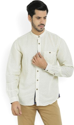 10d9eb3189 33% OFF on LP Jeans by Louis Philippe Men s Printed Casual Shirt on  Flipkart